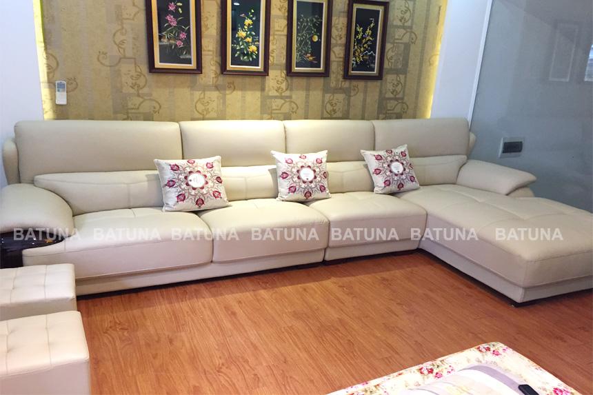 Bọc nệm ghế sofa gia đình cô Vân