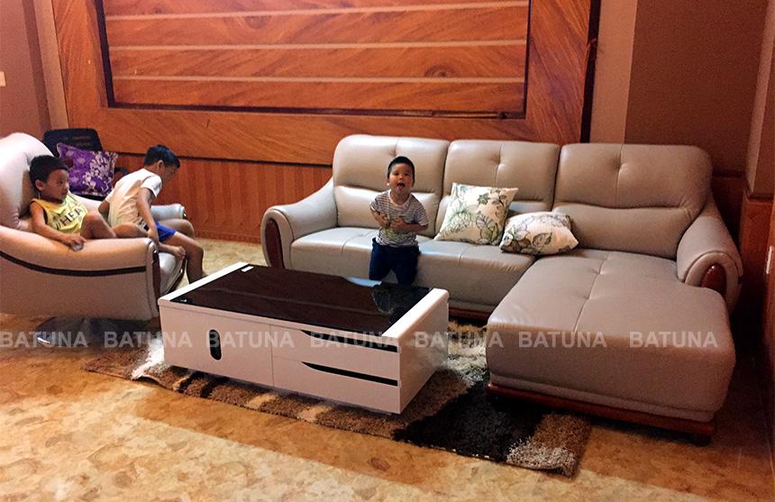 Sản phẩm sau sửa ghế sofa tại nhà