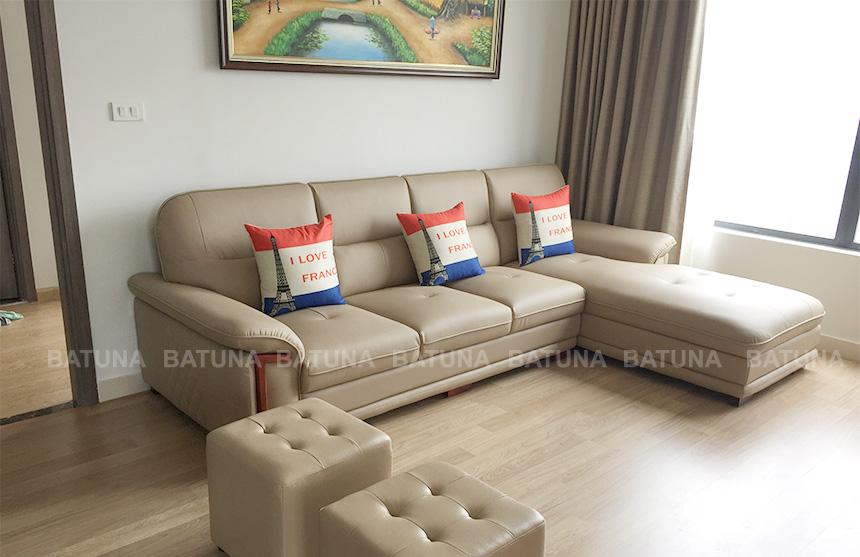 Sản phẩm vừa bọc lại sofa tại Batuna