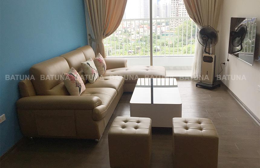 Sửa ghế sofa tại nhà anh Vệ