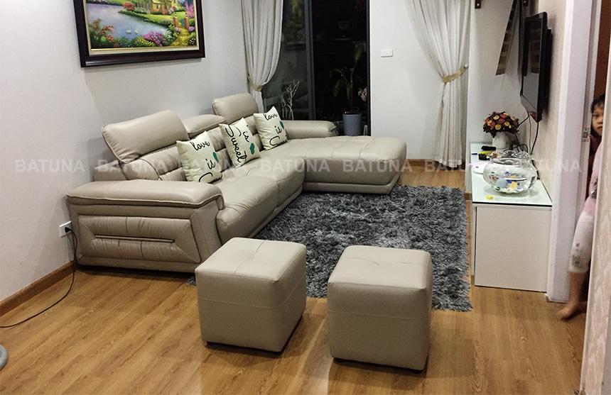 Bọc lại sofa trả lại dáng vẻ như mới cho bộ ghế sofa
