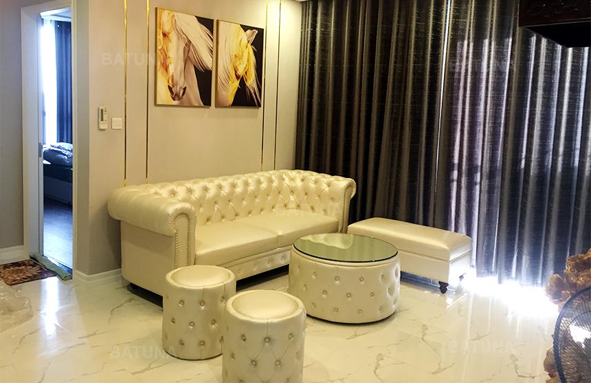 Bọc ghế sofa Hà Nội với dáng tân cổ điển